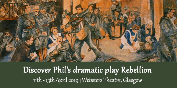 Discover Phil's dramatic play Rebellion